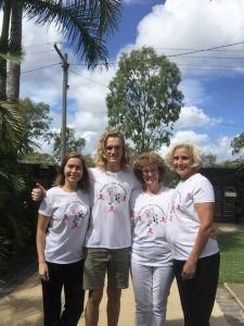 Join in and run or walk - you'll see the Hoofin for Hooters team, Rochelle Harling, Liam and Helen Window and Sue Bennett at the Mother's Day Classic on May 14