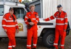 Ray King, Mark Lawler and John Missen call for more SES volunteers