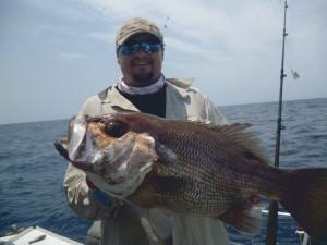 Skipper Rick's Big Pearl Perch.