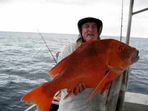 """Ron Pheeney from the Sunshine Coast with a """"thumpin' reddy"""""""