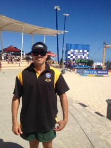 Rainbow Lifesaver, Tumaka Read travelled to Perth to compete in the Australian Titles