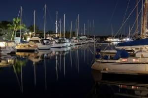 TCB Marina: Night Photography by Julie Hartwig