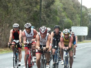 "Rainbow Beach Triathlon 2014 - The bike leg was still ""super quick"""