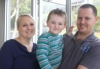 Melinda, Tommy and Dean Meakins are excited about their move to Rainbow