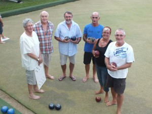 Fundraisers like barefoot bowls are fun, social and active!