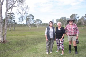 CCRFI members Jackie Moore, Helen Crooks and Paddy Moore will be pleased to read that a walking trail network with increased interpretative signage is reported in the plan