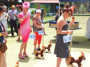 Each year the Sport's Club Melbourne Cup includes horse races from Rainbow Beach stables