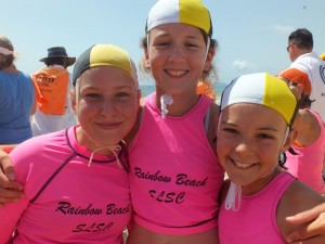 Sarah Speirs, Jasmine Legge and Abby Schooth look forward to another great carnival Annie White and Tilly Duggan were competitive at last year's popular carnival