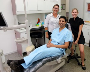 Michelle, Dr Abhi and Ericka welcome you to Cooloola Cove Smiles