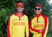 Sam Cartwright and Reece Muir helped revive a tourist at Double Island Point