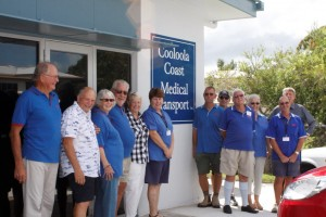 Cooloola Coast Medical Transport volunteers are pleased with their new home in the old Tin Can Bay Fire Station