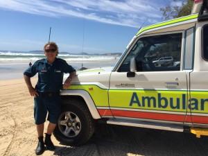 Craig Ainsworth Ambulance Officer