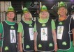 Community Centrefold members Kerry Rickards, Coralie Leslie, Collette Archibald and Helen Brown tied for best St Patty's Day costume