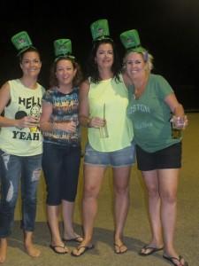 Oh my Quads Camille Nash, Leanne Bosse, Zaneta Fitzgerald, Shelley Jones had fun on the green
