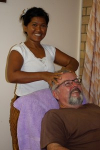 Nut and Paul Arthur have opened a new service in town - Thai massage