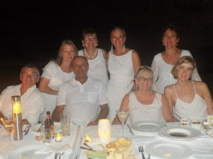 Back row: Naomi Warburton, Lindy Orwin, Glenys Badcock,  Robyn  Lynn, Front row: Rob Warburton, Paul Badcock, Trish Torenbeek, Ella Pepinghege