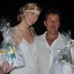 Best dressed bodies: Ella Pepinghege and Kosta Ladas