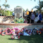There was a fantastic attendance, up on previous years, with a least 700 at the dawn service and a similar number, probably 500-700 attended the March and Wreath laying Ceremony
