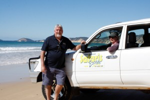 Glenn Wiggins from Surf and Sand Safari is positive about the future of the Great Beach Drive