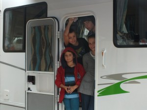 Families are the growing sector in the caravanning and camping industry