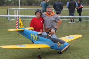 Aaron and David Garle with their PT19