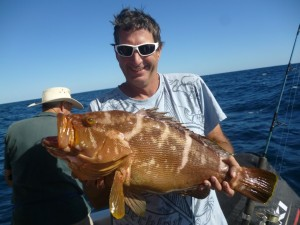 Jude Van de Maal from Gympie with big Maori Cod