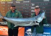 Andrew Buchbach won the big fish category by catching a 31.46kg Spanish mackerel off the beach