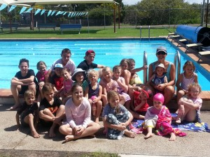 Cooloola Coast Little Athletics celebrated the end of season with a participation medal and pizza at the Tin Can Bay Pool