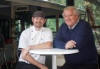 New Chef James Budge and Manager Tony Freeman look forward to the next era for the rebranded Rainbow Shores