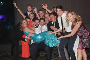 Emily Simpson and the Clubbies at the Gala Ball