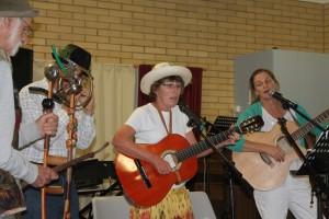 John, Len, Kay and Kristen perform