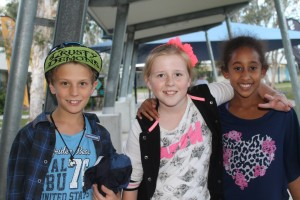 Junior School Captains Lachlan and Nadine and Jorja