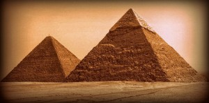 Giza Pyramids - Jennifer Gamble - B Grade Honour