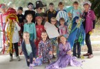Class 1/2 and Mrs. Young were fish, jellyfish, coral, pirates and more!
