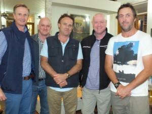 Destination Gympie's Andrew Saunders, Mark Beech, Simon Latchford and CEO Simon Ambrose brought Sunshine Coast Destinations Ltd (SCDL ) and Sean Permezel