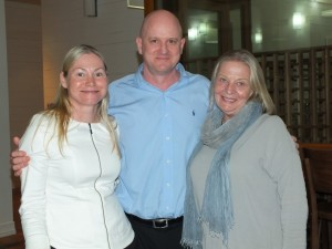 """Tanya and Mark Beech are grateful to Jan Foletta from SCDL for making them """"international ready"""""""