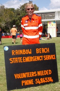 Mark Lawler encourages you to volunteer for the SES