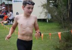 Zac powers out of the pool at last year's Tri
