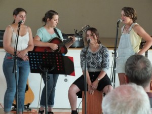Sister Act - Anneke and Michaela Harries, Chloe Bell and Shannon Harries