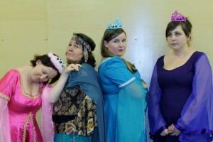 Local Rebecca Grant stars as Sleeping Beauty in a Gympie Theatre Association production called  'The Real Princesses of Fairyland'.