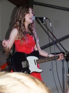 Caitlyn Shadbolt headlined the night