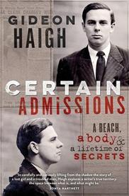 Certain Admissions A beach, a body & a lifetime of secrets