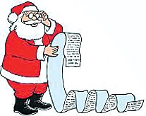 Santa Shopping List