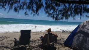 Camping capacity of beautiful Inskip Point is under scrutiny - Image Rainbow Beach Ultimate Camping