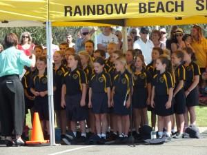 Conducting beautiful tributes on ANZAC days