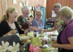 Craft Club members Judy Kilbourne, Sandra Williamson, Judy Byatt, Penny Melton and Elaine Dale came along to support the LAC
