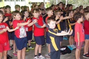 On our Day for Daniel, students demonstrated Music Count Us In, Australia's biggest school music initiative, with more than 500,000 participating students from over 2,100 schools nationwide