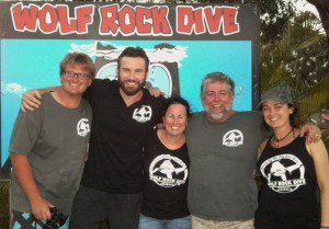 Mitch Neumann, Clive Standen (AKA Rollo from Vikings), Cheryl Maughan, Kev Phillips and Cassie Smith