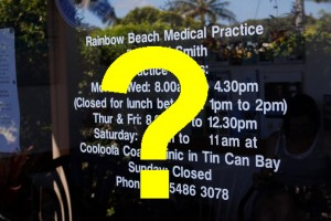 GP service jan 16 - with question mark