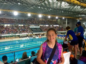 Jasmin White from Rainbow Beach was selected for the Wide Bay teams, and came fifth in the state for the medley and freestyle relays!
